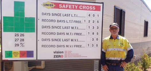 Safety Gone Mad at Linfox in Hedland